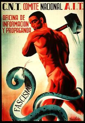 Anarchism_in_spain_fascism_snake_2
