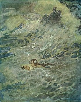 Dulac_mermaid_with_drowning_sailor